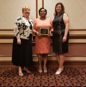 Cover photo for Della Hicks Is Recognized for High Achievement
