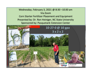 Cover photo for Corn Starter Fertilizer Placement and Equipment