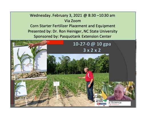 Corn Starter Fertilizer Placement and Equipment